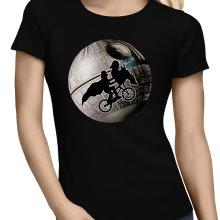 T-shirts Femmes  parodique Dark Vador et l
