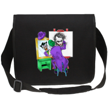 Sacs bandoulière Canvas  parodique Le Joker : Drôle d