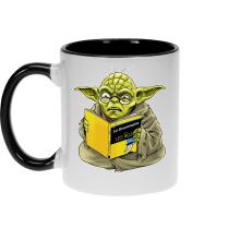 Mugs  parodique Yoda : En grammaire, un zéro, il est... :) (Parodie )