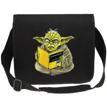 Sacs bandoulière Canvas  parodique Yoda : En grammaire, un zéro, il est... :) (Parodie )