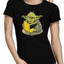 T-shirts Femmes  parodique Yoda : En grammaire, un zéro, il est... :) (Parodie )