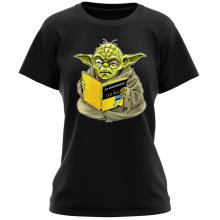 T-shirts Femmes (French Days)  parodique Yoda : En grammaire, un zéro, il est... :) (Parodie )