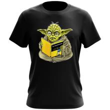 T-shirt  parodique Yoda : En grammaire, un zéro, il est... :) (Parodie )