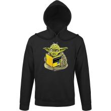 Sweats à capuche  parodique Yoda : En grammaire, un zéro, il est... :) (Parodie )