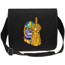 Funny  Canvas Messenger Bag - Thanos ( Parody) (Ref:1078)