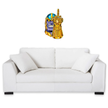 Funny  Wall Sticker - Thanos ( Parody) (Ref:1078)