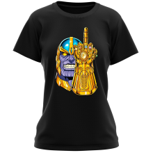 Funny  Women T-shirt - Thanos ( Parody) (Ref:1078)