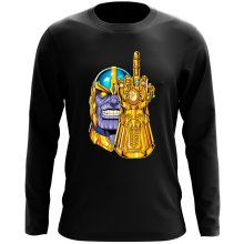 Funny  Long Sleeve Top - Thanos ( Parody) (Ref:1078)