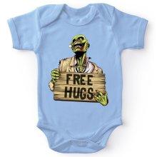 Body bébé  parodique Walking Dead Zombie - Free Hugs : Free Hugs - Zombie (Parodie )