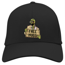 Casquette  parodique Walking Dead Zombie - Free Hugs : Free Hugs - Zombie (Parodie )