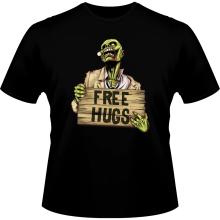 T-shirts  parodique Walking Dead Zombie - Free Hugs : Free Hugs - Zombie (Parodie )