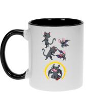 Mug  parodique Krokmou : Fusion Nocturne... (Parodie )