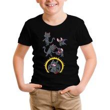 T-shirt Enfant  parodique Krokmou : Fusion Nocturne... (Parodie )