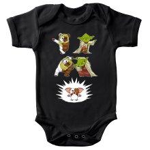 Body bébé  parodique Yoda, un Ewok et Gizmo : Fusion !! YAHA !! (Parodie )