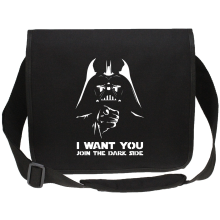 Sac bandoulière Canvas  parodique Dark Vador se la joue Oncle Sam : I want You !! (Parodie )