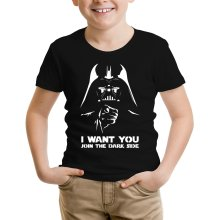 T-shirts (French Days)  parodique Dark Vador se la joue Oncle Sam : I want You !! (Parodie )