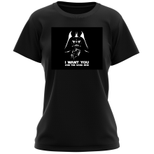T-shirts Femmes (French Days)  parodique Dark Vador se la joue Oncle Sam : I want You !! (Parodie )