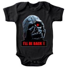 Body bébé  parodique Dark Vador X Terminator : I