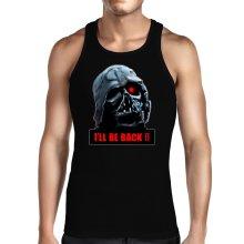 Débardeur  parodique Dark Vador X Terminator : I