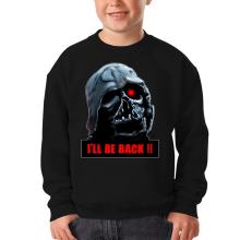 Sweat-shirts  parodique Dark Vador X Terminator : I