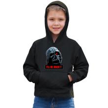 Sweat à capuche Enfant  parodique Dark Vador X Terminator : I