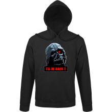 Sweat à capuche  parodique Dark Vador X Terminator : I