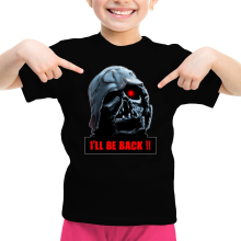 T-shirt Enfant Fille  parodique Dark Vador X Terminator : I