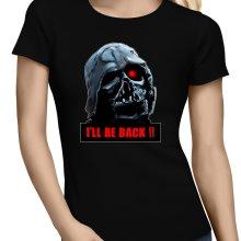 T-shirts Femmes  parodique Dark Vador X Terminator : I