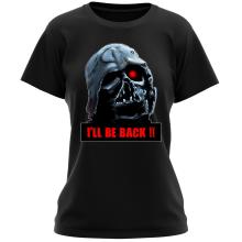 T-shirt Femme  parodique Dark Vador X Terminator : I