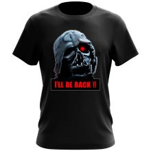 T-shirt  parodique Dark Vador X Terminator : I
