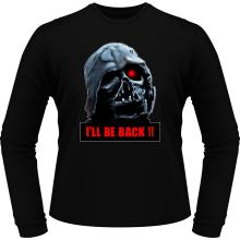 T-Shirts à manches longues  parodique Dark Vador X Terminator : I