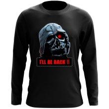T-Shirt à manches longues  parodique Dark Vador X Terminator : I