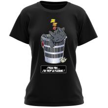 T-shirts Femmes (French Days)  parodique Krokmou la Furie Nocturne : J