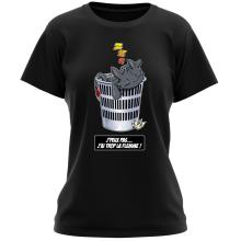 T-shirt Femme  parodique Krokmou la Furie Nocturne : J