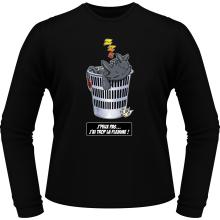 T-Shirts à manches longues  parodique Krokmou la Furie Nocturne : J