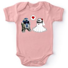Body bébé (Filles)  parodique R2-D2 : Just Married... :) (Parodie )