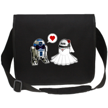 Sac bandoulière Canvas  parodique R2-D2 : Just Married... :) (Parodie )