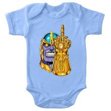 Funny  Baby Bodysuit - Thanos ( Parody) (Ref:1078)