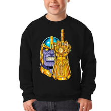 Funny  Kids Sweater - Thanos ( Parody) (Ref:1078)