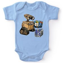 Funny Bodysuits - Wall-E, Goldorak and R2-D2 ( Parody)