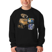 Sweat-shirts  parodique Wall-E, Goldorak et R2-D2 : La grosse boulette... :) (Parodie )