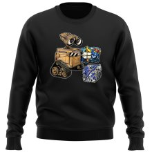 Funny Sweatshirts - Wall-E, Goldorak and R2-D2 ( Parody)