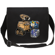 Funny Canvas Messenger Bags - Wall-E, Goldorak and R2-D2 ( Parody)