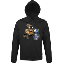 Funny Hoodies - Wall-E, Goldorak and R2-D2 ( Parody)