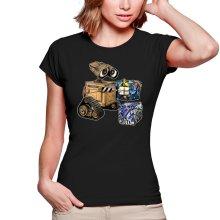 T-shirts Femmes  parodique Wall-E, Goldorak et R2-D2 : La grosse boulette... :) (Parodie )