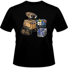 T-shirts  parodique Wall-E, Goldorak et R2-D2 : La grosse boulette... :) (Parodie )