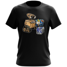 Funny T-Shirts - Wall-E, Goldorak and R2-D2 ( Parody)