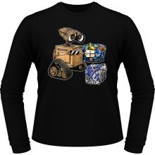 T-Shirts à manches longues  parodique Wall-E, Goldorak et R2-D2 : La grosse boulette... :) (Parodie )