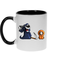 Mug  parodique Kenny : La parodie qui tue... :) (Parodie )