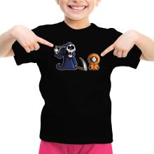 T-shirt Enfant Fille  parodique Kenny : La parodie qui tue... :) (Parodie )